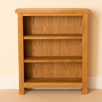 Lanner Oak Small Bookcase front