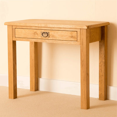 Lanner Oak Desk by Roseland Furniture