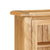 Zelah Oak Extra Large Hutch - Close Up of Hutch Top