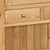Zelah Large Hutch - Close Up of Small Drawer Front