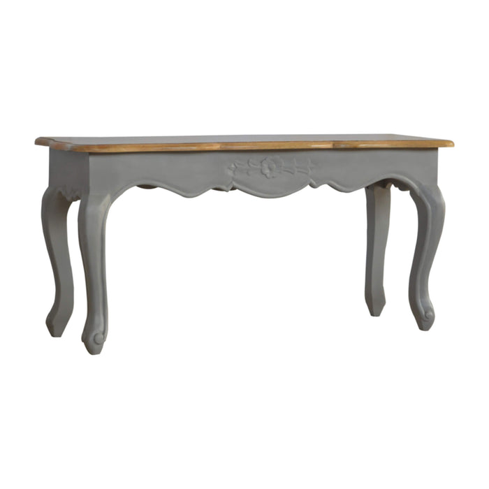 Artisan Grey French Style Bench
