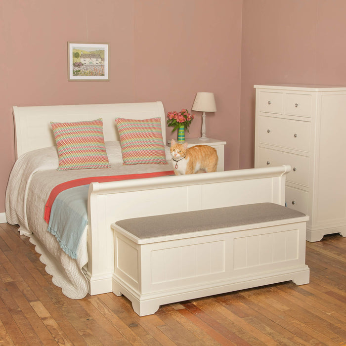 Lily Super-King 6' Sleigh Bed