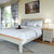 "Padstow Stone Grey 4'6"" Double Bed Frame"