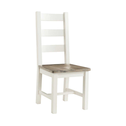St Ives Painted Dining Chair by Roseland Furniture