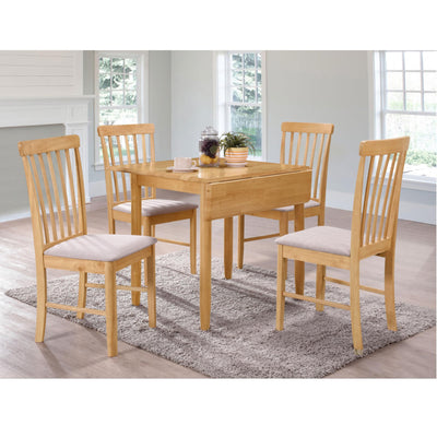 Cologne Square Drop Leaf Dining Table by Roseland Furniture