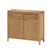 Dunmore Oak 2 Door Sideboard by Roseland Furniture