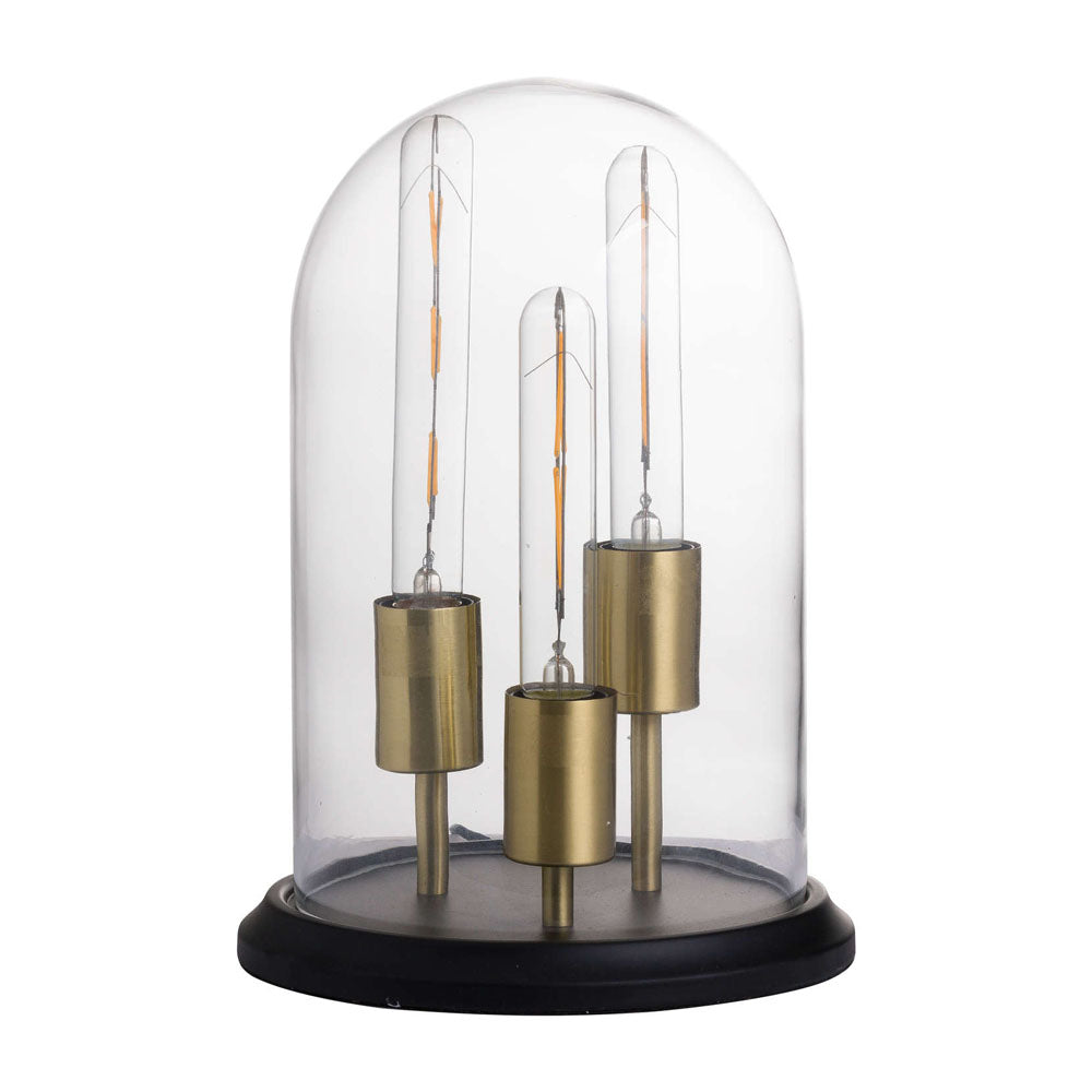 Vintage Industrial Triple Glow Lamp