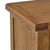 Zelah Oak Extra Large Sideboard - Close up of top