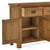 Zelah Oak Extra Large Sideboard - Showing inside cupboard and dovetail joints on drawers