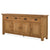 Zelah Oak Extra Large Sideboard - Side view