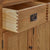 Zelah Oak Extra Large Sideboard - Showing dovetail joints on drawers