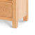 Surrey Oak Large Chest Of Drawers - Close up- of base of drawers