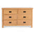Surrey Oak Large Chest Of Drawers by Roseland Furniture
