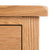 Surrey Oak Large Chest Of Drawers - Close up of top right front of drawers