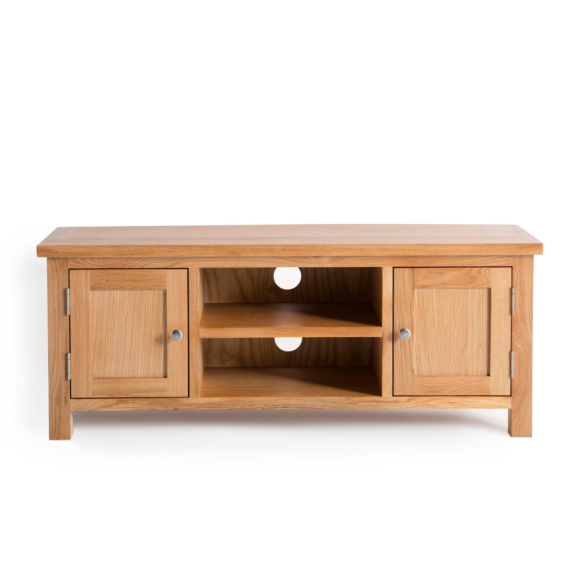 London Oak 120cm TV Stand by Roseland Furniture