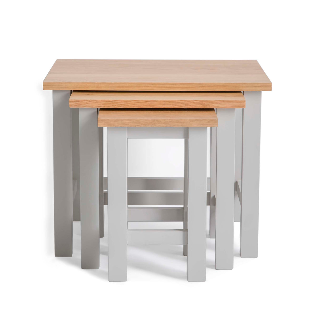 Farrow Grey Nest of Tables by Roseland Furniture