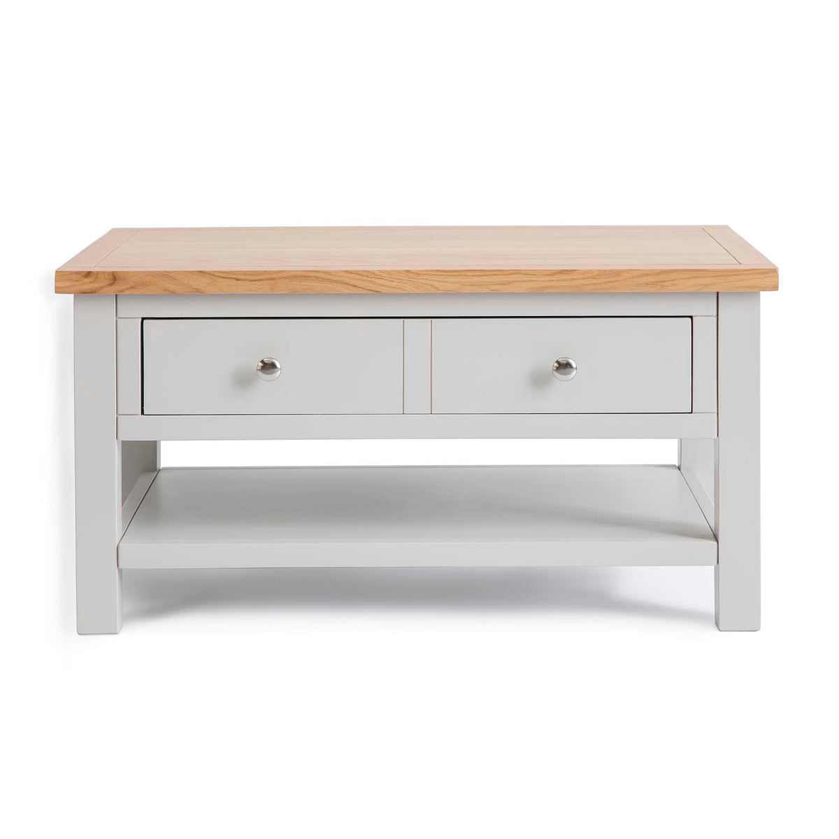 Farrow Grey Coffee Table with Drawer by Roseland Furniture