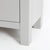 Farrow Grey large 3 over 3 Chest of Drawers - Close up of feet