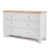 Farrow Grey large 3 over 3 Chest of Drawers - Side view