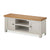 Dorset Stone Grey Large TV Cabinet by Roseland Furniture
