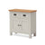 Dorset Stone Grey Mini 2 Door Sideboard Cabinet