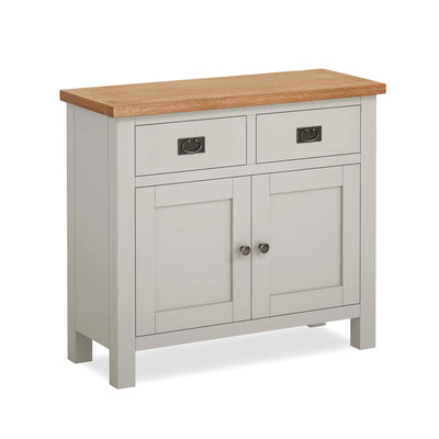 Dorset Stone Grey Small Sideboard Cabinet by Roseland Furniture