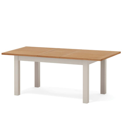 Dorset Stone Grey Small 150cm Extending Dining Table