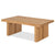 Oak Mill Coffee Table - Wood Base - Waxed Oak