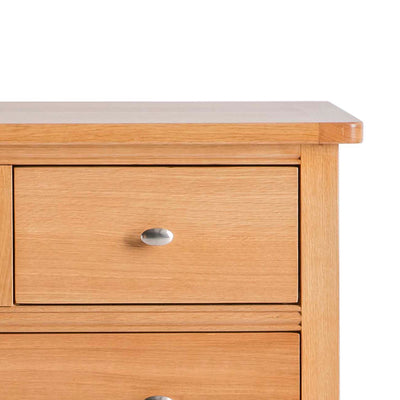 Hampshire Oak 2 over 3 Drawer Chest