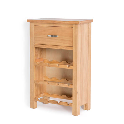 London Oak Wine Cabinet