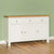 Farrow White Large Sideboard - Lifestyle side view