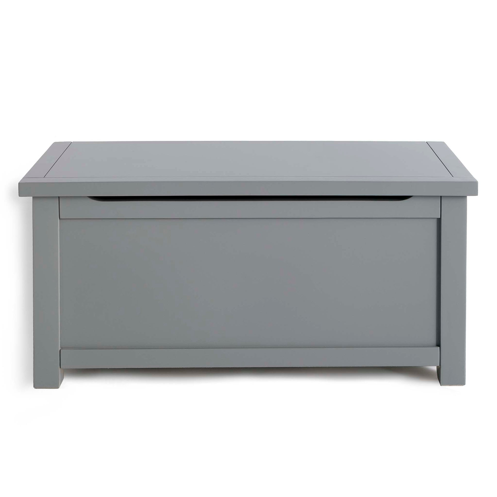 Cornish Grey Wooden Blanket Box Trunk Ottoman from Roseland Furniture