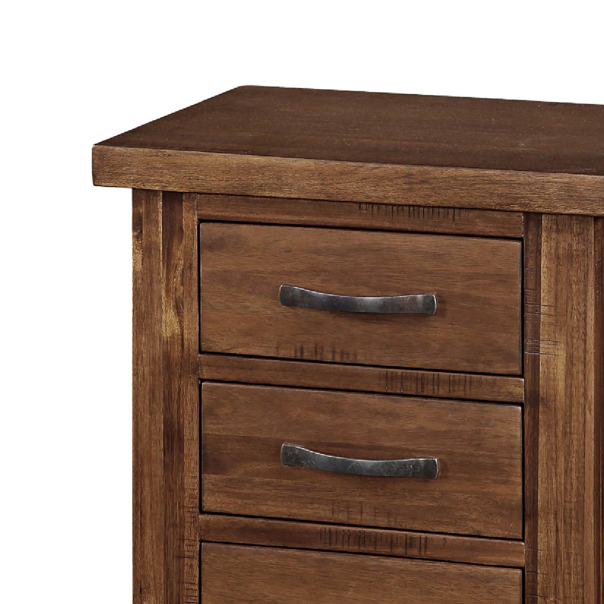 Ladock Bedside Table - Close Up of Drawers