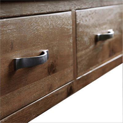 Close up of drawers - Ladock Console Table