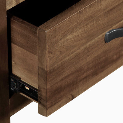 Metal drawer runners - Ladock Console Table