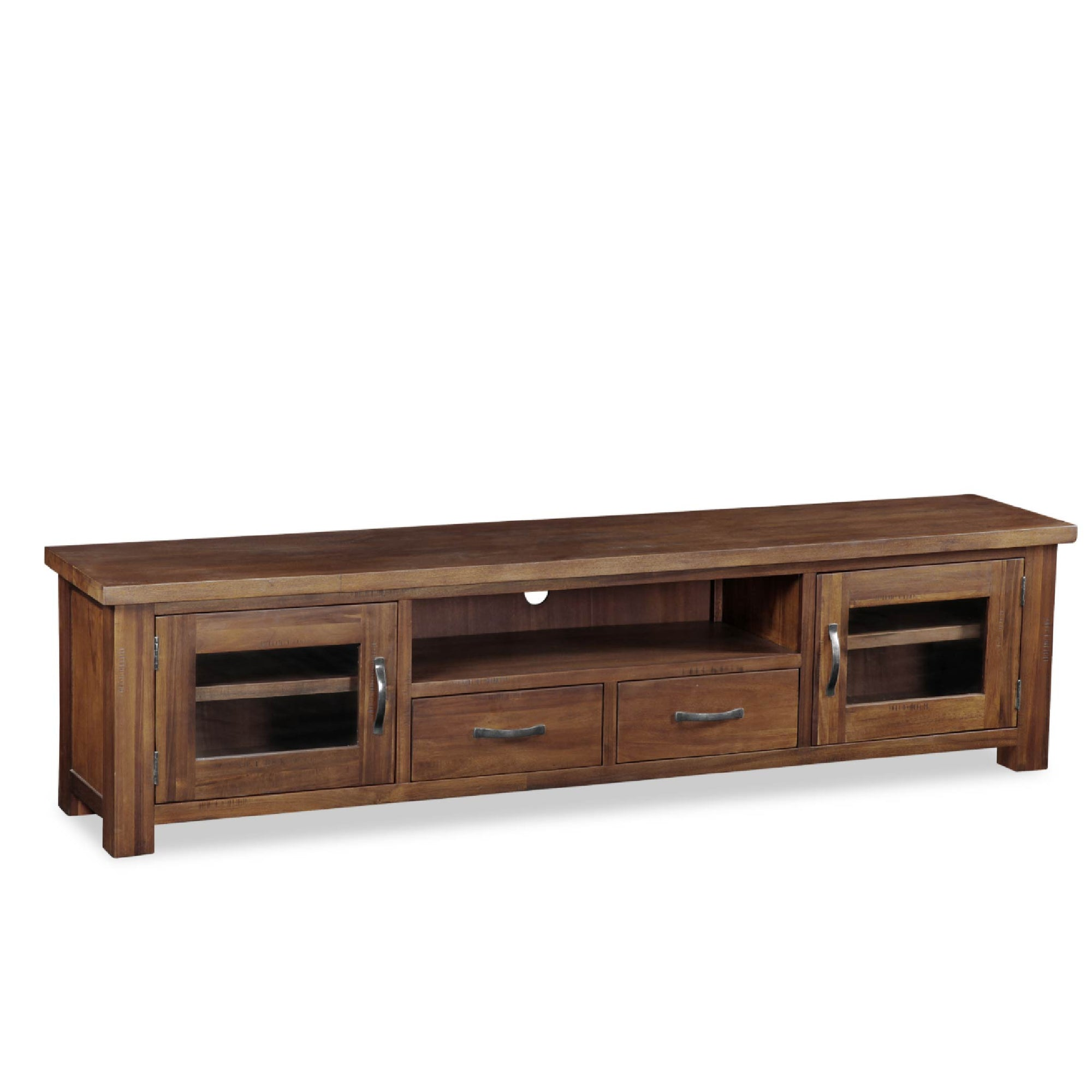 Ladock Extra Large 220cm TV Unit by Roseland Furniture