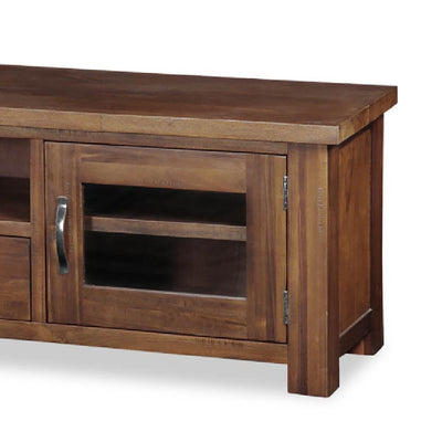 Ladock Extra Large 220cm TV Stand - Close Up of Cupboard