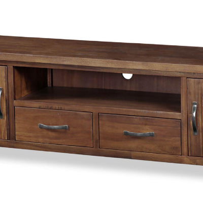 Ladock Extra Large 220cm TV Stand - Close Up of  Mid Section