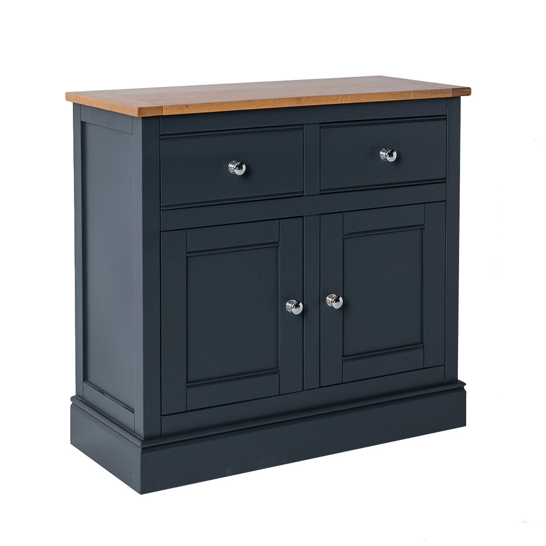 Chichester Charcoal Black Small Sideboard from Roseland Furniture