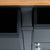 Close up of the drawer edges on the Chichester Charcoal Small Sideboard