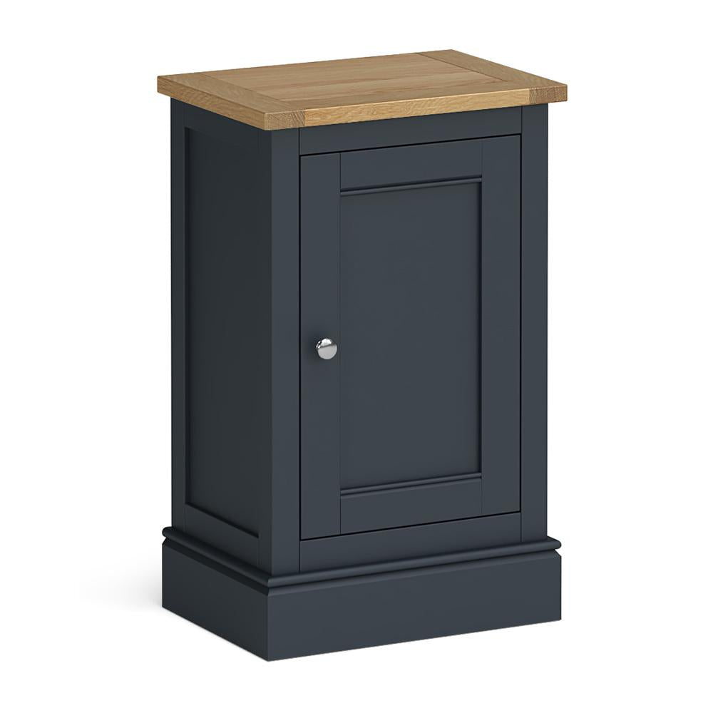 Chichester Mini Cupboard in Charcoal by Roseland Furniture