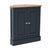 Chichester Charcoal Black Corner Cupboard from Roseland Furniture