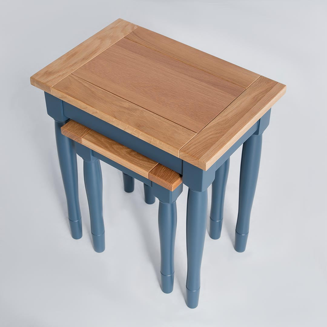 Chichester Stiffkey Blue 2 Nested Tables