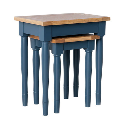 Chichester Stiffkey Blue Nest of Tables