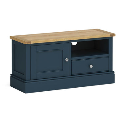 Chichester 100cm TV Stand Stiffkey Blue by Roseland Furniture