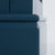 Close up of solid wood base on the Chichester Stiffkey Blue Mini Cupboard