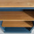 Chichester Stiffkey Blue Grey Small Bookcase oak wooden shelves