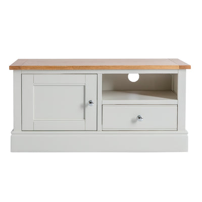 Chichester Ivory Small TV Unit from Roseland Furniture