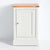 Front view of the Chichester Ivory Cream Mini Cupboard