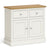 Chichester Small Sideboard in Ivory by Roseland Furniture